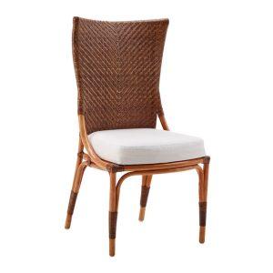 Melody chair - rattan - cherry