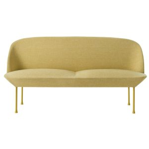 oslo sofa two seater - Yellow