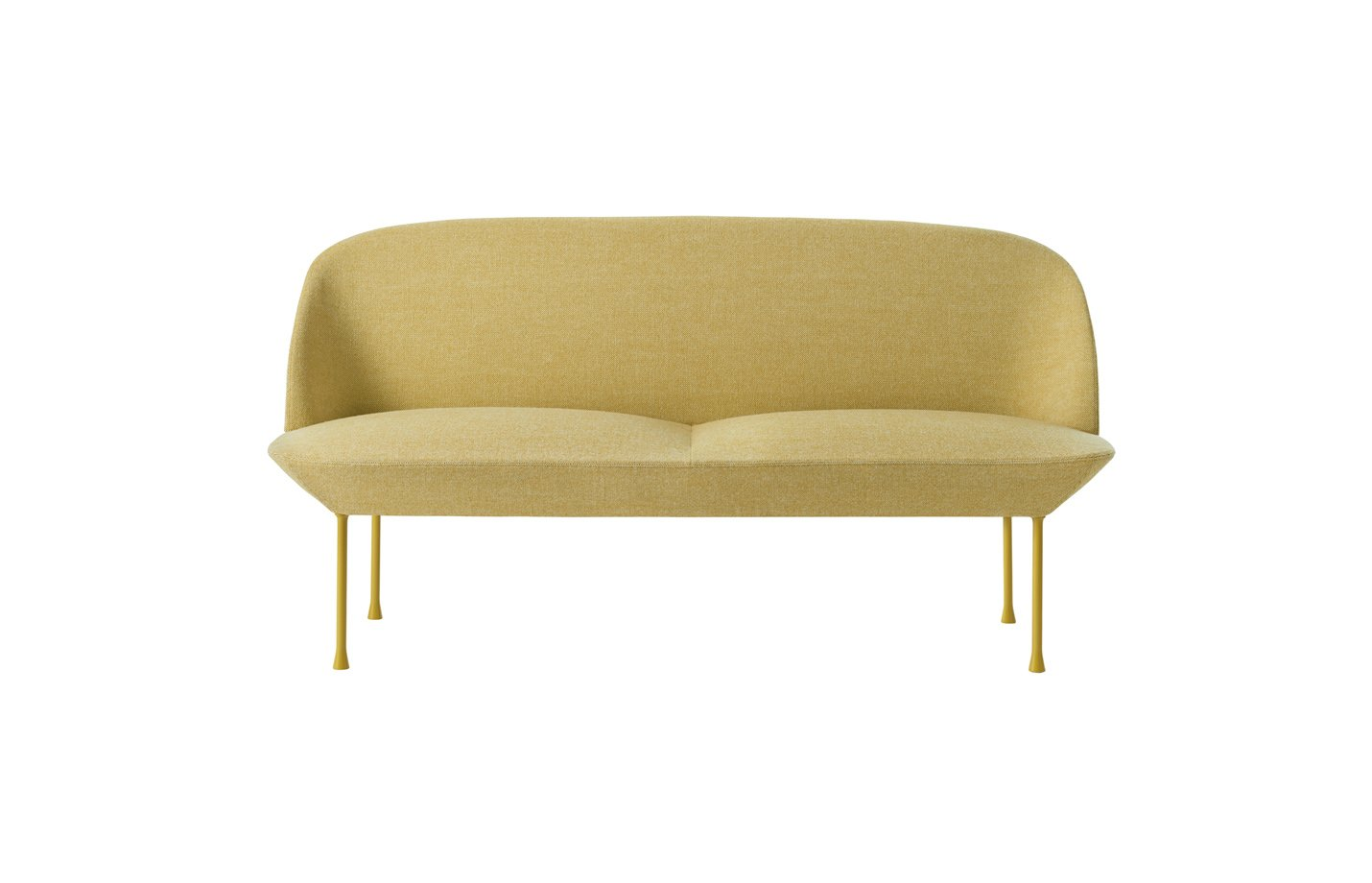 oslo sofa two seater – Yellow