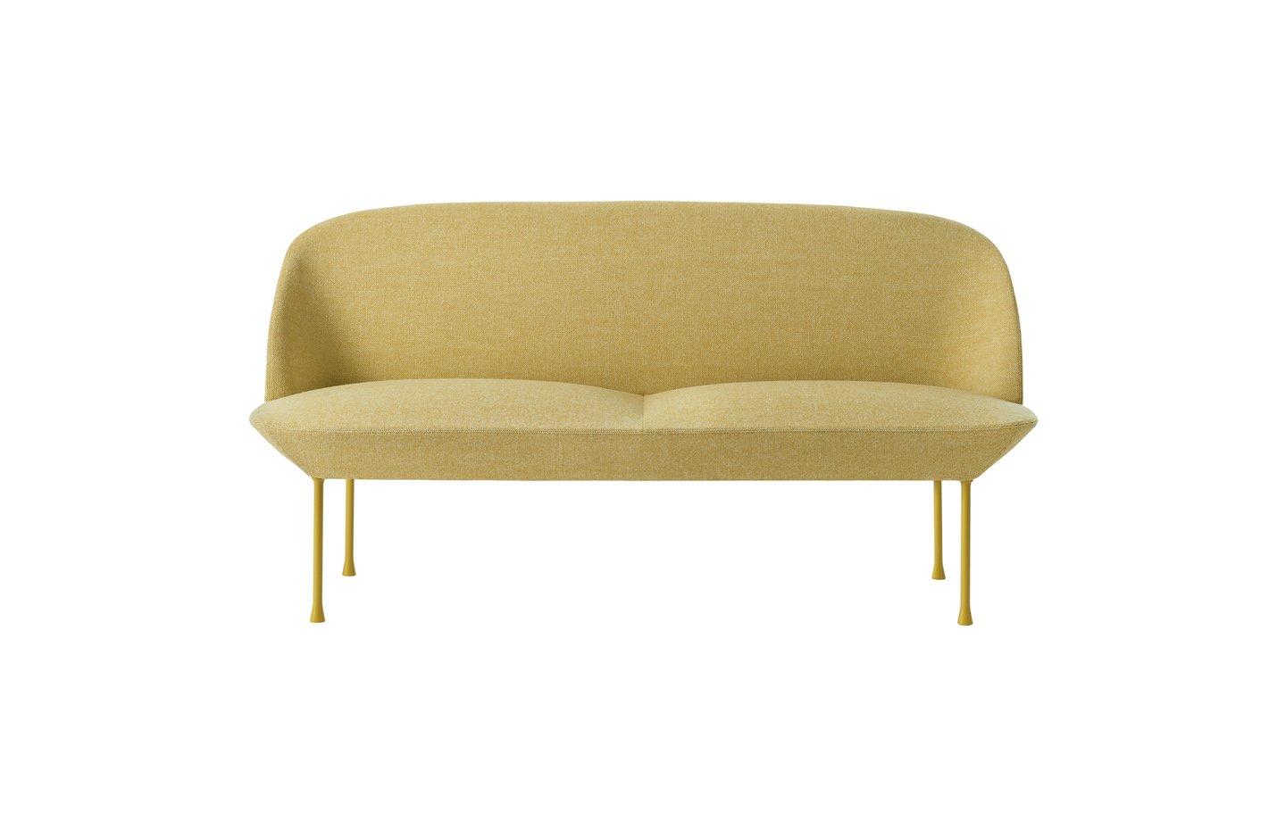 oslo sofa two seater – Yellow