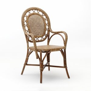 Romantica chair - rattan - antique