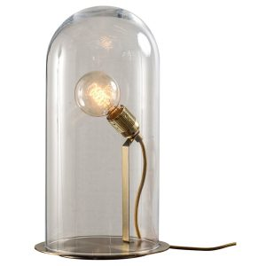 speak up table lamp - Chestnut-brown