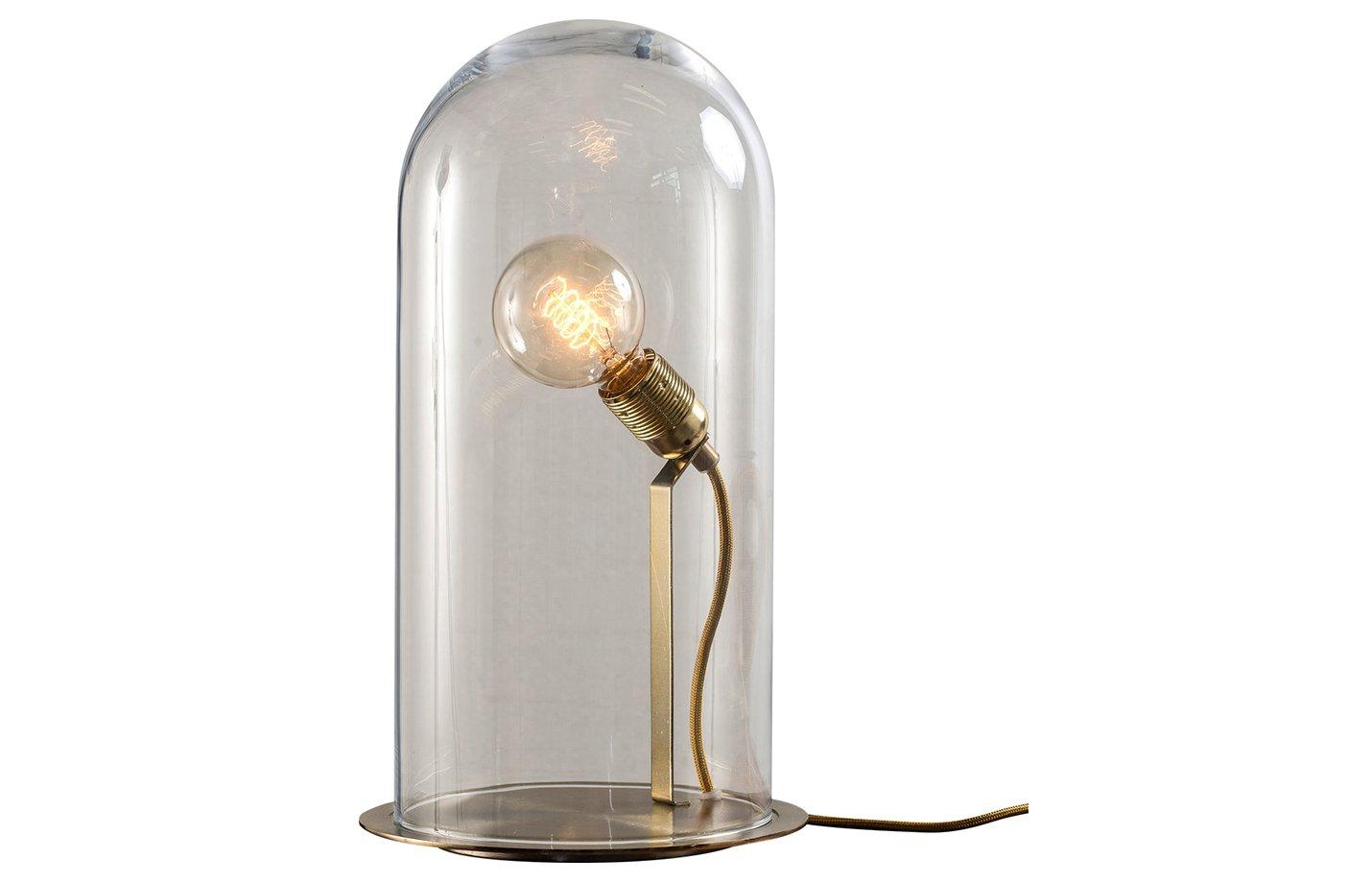 speak up table lamp – Chestnut-brown