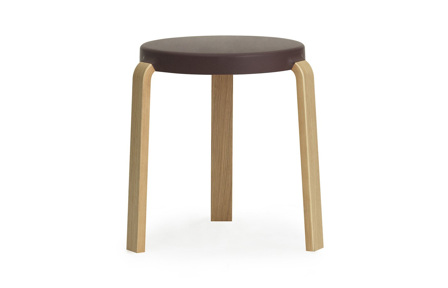 Tap footstool – aubergine