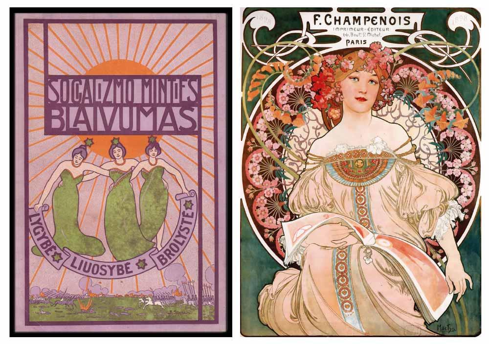 Art deco vs art nouveau fabiia dubai uae - Art nouveau art deco ...