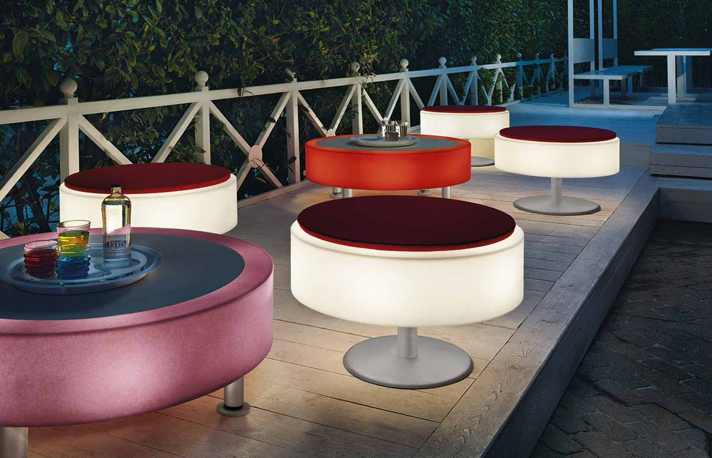 Atollo Pouf Outdoor Light