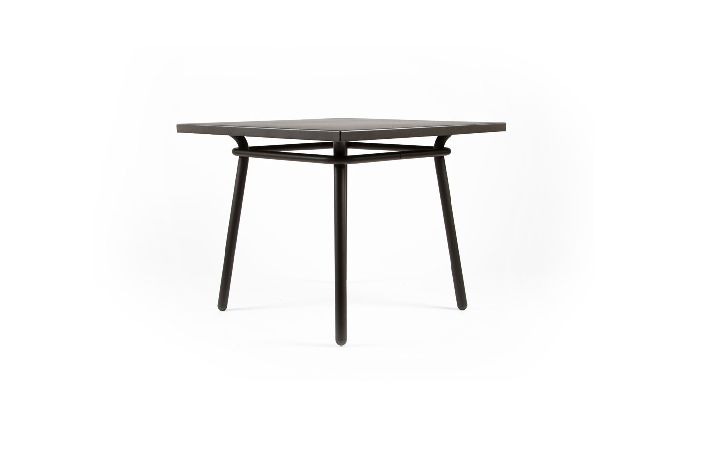 Square Dining Table – Charbon