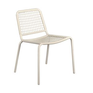 Vega Wicker Chair - White