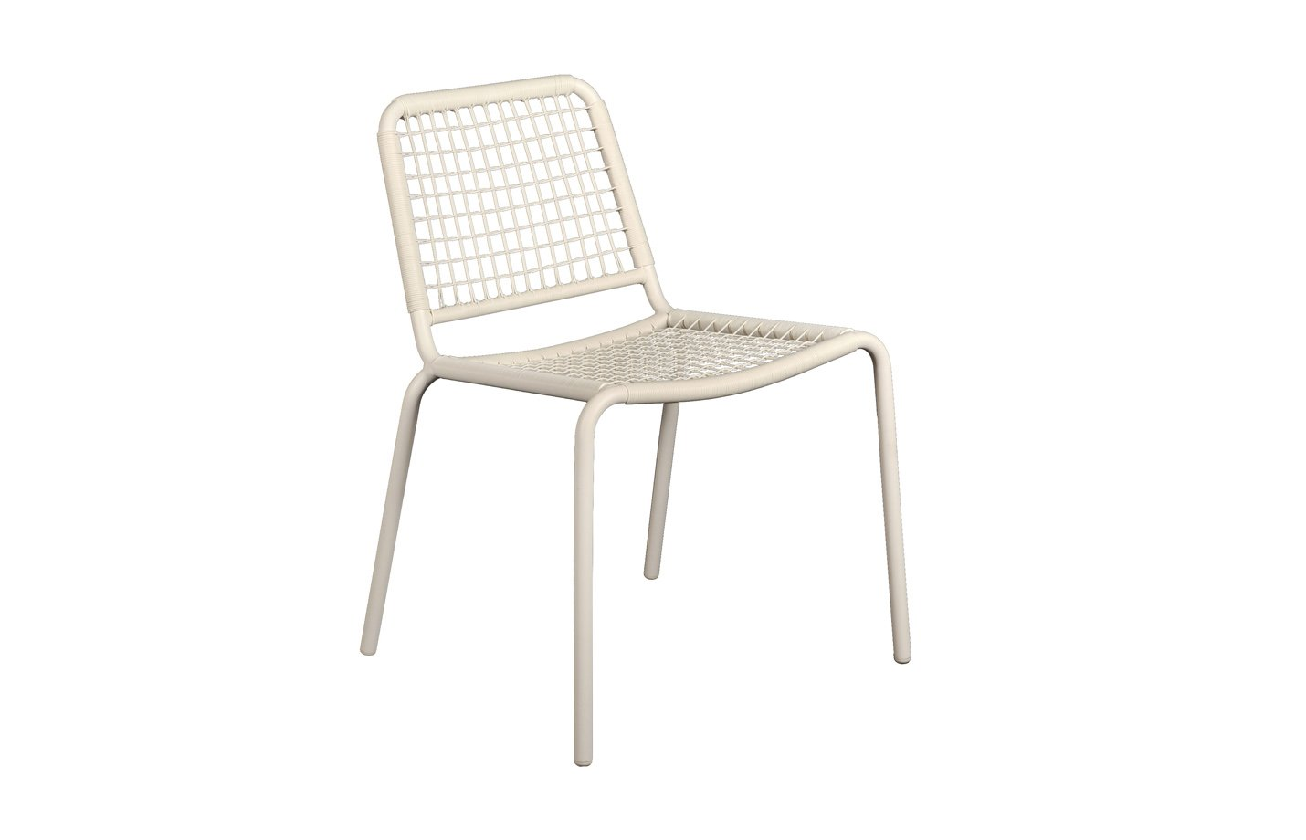 Vega Wicker Chair – White