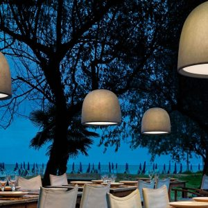 campanone Outdoor Pendant Light