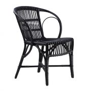Wengler Rattan Chair – Black