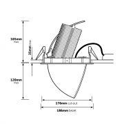 Tindra Series-Dimensions