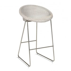 Joe-counter-stool-with-Chrome-sled-base