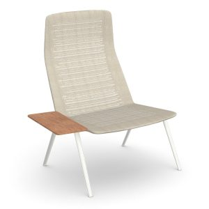 Zebra-knit-lounge-high-backrest