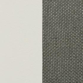Aluminium warmwhite + Acrylic Nature Grey
