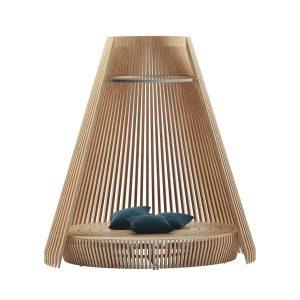 Hut Lounge Bed1