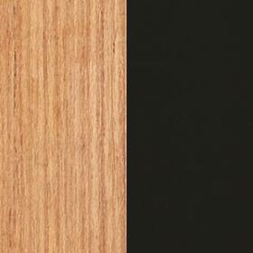 Natural Teak+ Aluminium Textured matt Sepia Black